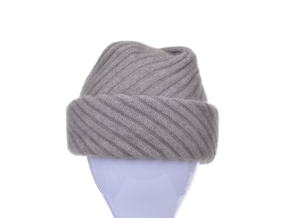 4d81eb4c492 Possum Merino Rib Hat with Pleated Top - McDonald Textiles - Development