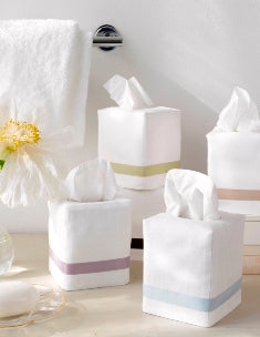 Lowell Tissue Box Covers by Matouk