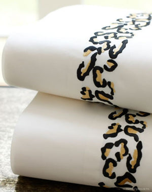 Safari Embroidered Bed Linens