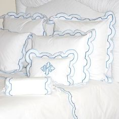 Sorrento Custom Monogrammed Duvet Covers-Coverlets-Shams