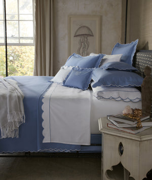 Matouk Diamond Pique Coverlets and Shams