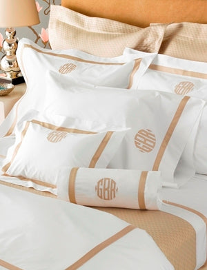 Matouk Lowell Applique Bedding Linens