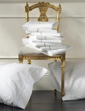 Matouk Scallop Sheets-Duvet Covers-Shams