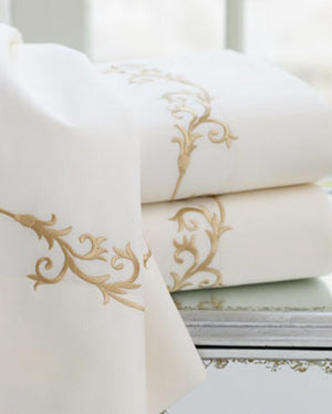 Tuscany Embroidered Bed Linens- Sheet Sets