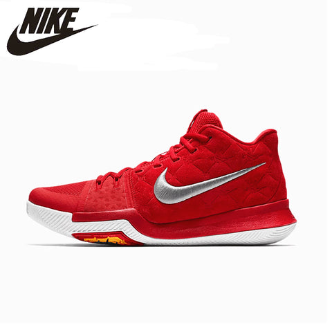 9904f0892942 NIKE KYRIE 3 EP Original Mens Basketball Shoes Breathable Footwear Super  Light Support Sports Sneakers For