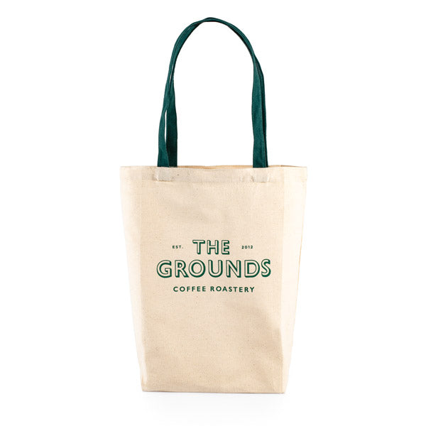 The Grounds Roastery | Natural Tote Bag