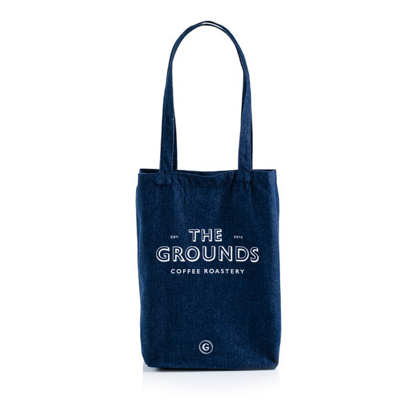 The Grounds Roastery | Denim Tote Bag