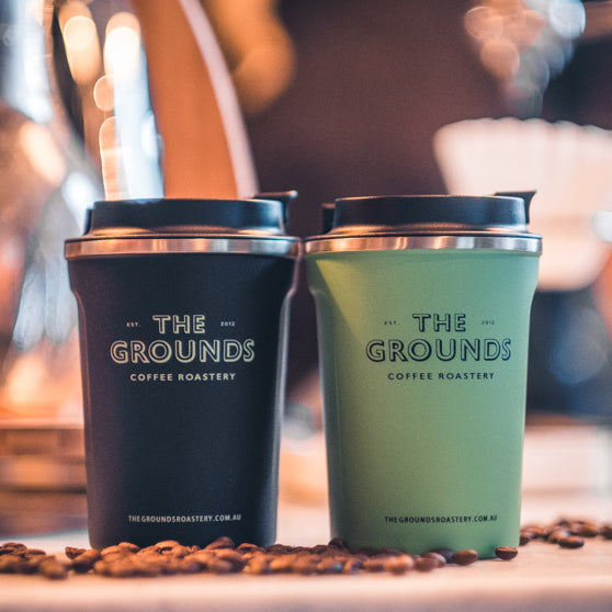 The Grounds Roastery | Insulated Stainless Steel Travel Cup