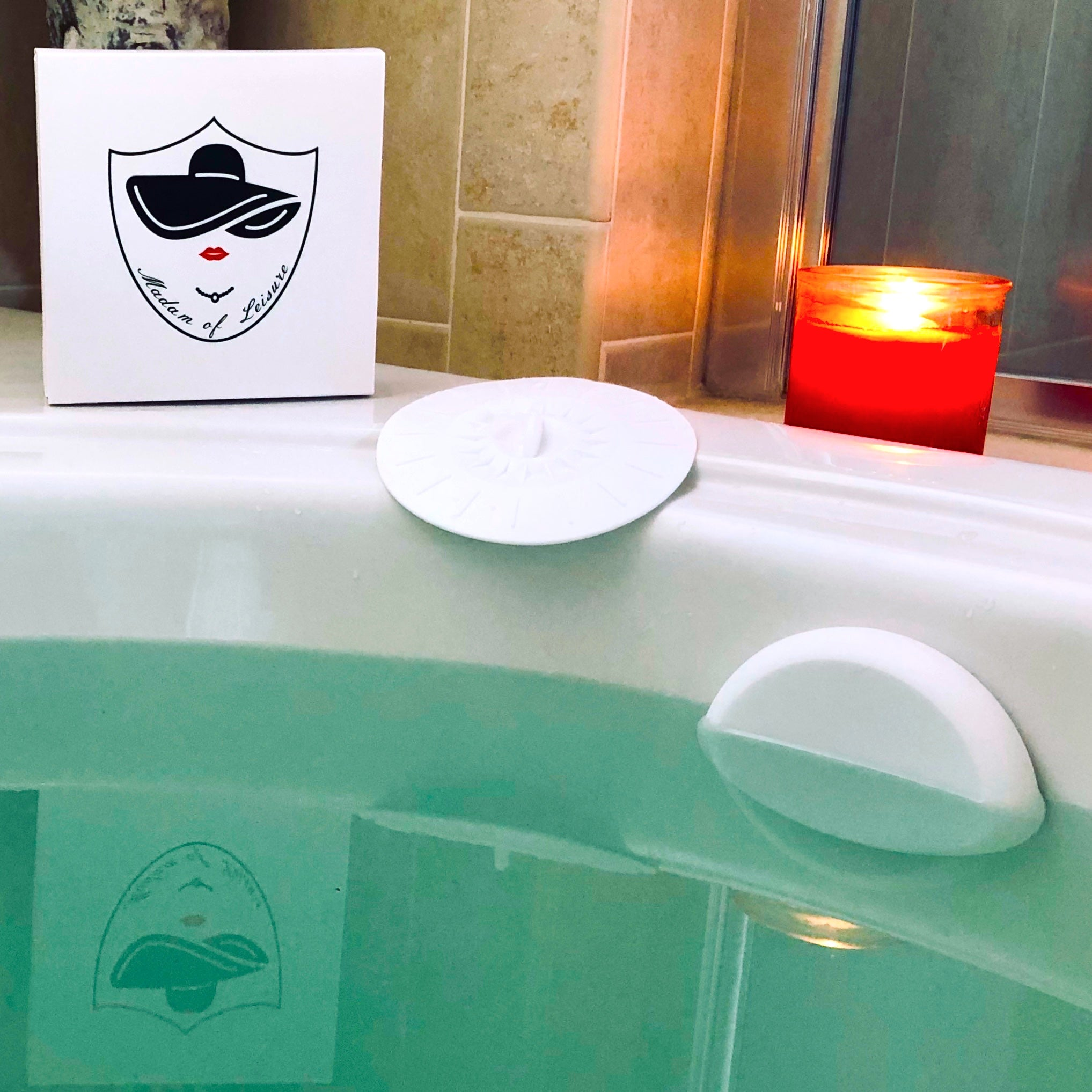 Picture of: Bathtub Overflow Drain Cover And Tub Drain Stopper Leisure Hour Madam Of Leisure Lord Of Leisure