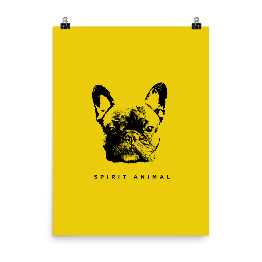 Spirit Animal Poster - le-fralla