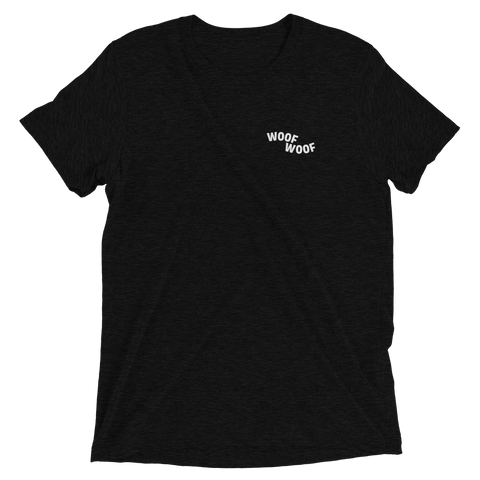 Woof Woof Tee - Black - le-fralla