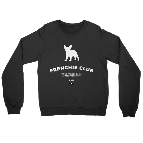Frenchie Club Sweater - Black - le-fralla