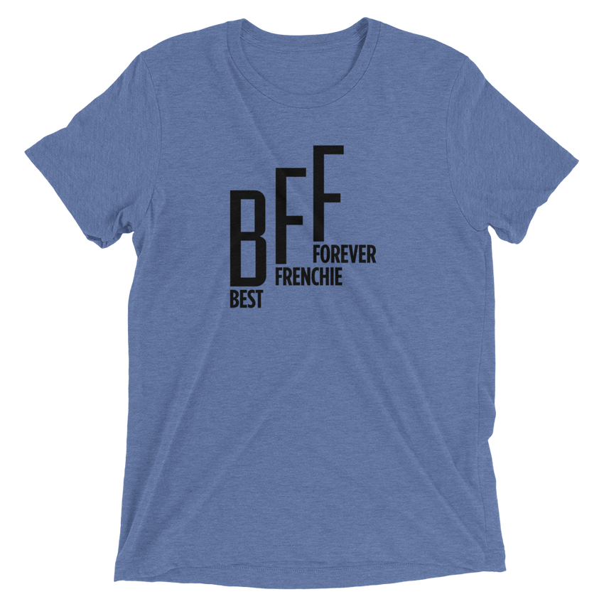 BFF Tee - Blue - le-fralla