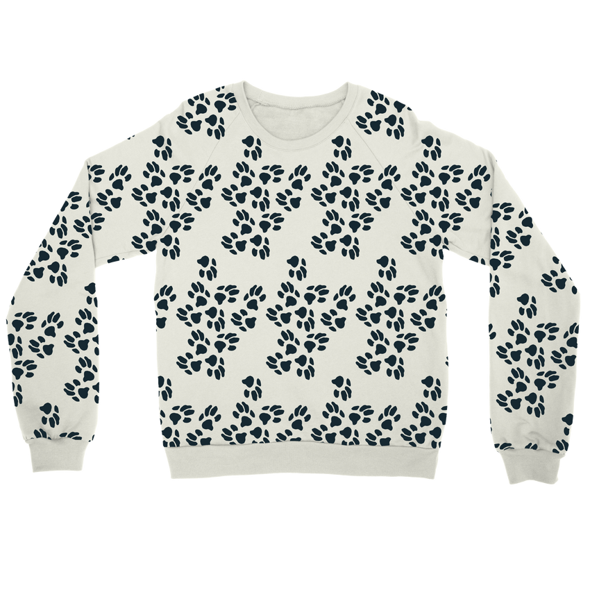 Paws Sweater - White - le-fralla