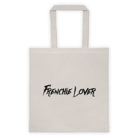 Frenchie Lover Tote - White - le-fralla