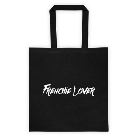 Frenchie Lover Tote - Black - le-fralla