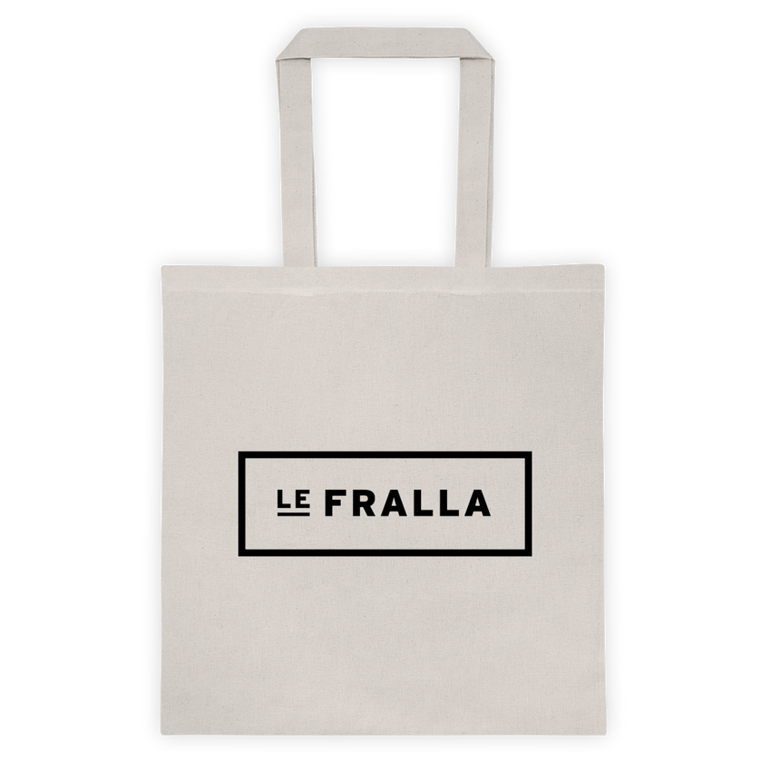 Original Text Tote - White - le-fralla