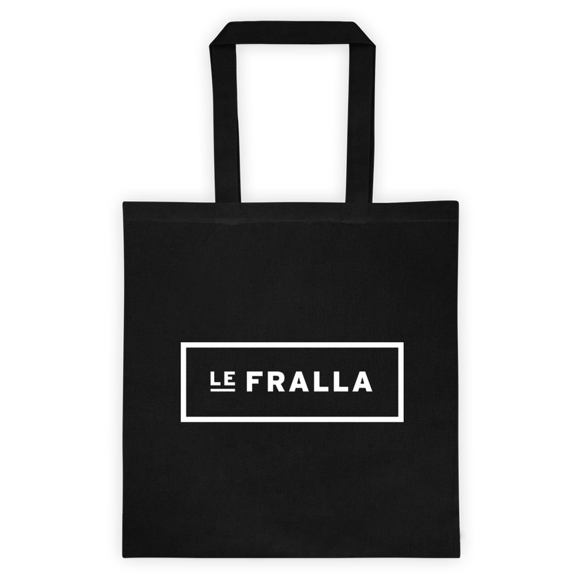 Original Text Tote - Black - le-fralla