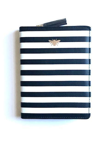 Stripe Bee Journal