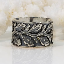 Eternity Leaves Ring