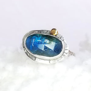 Kyanite Gemstone Ring