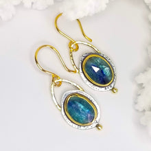 Denim Blue Petite Kyanite Gemstone Earrings