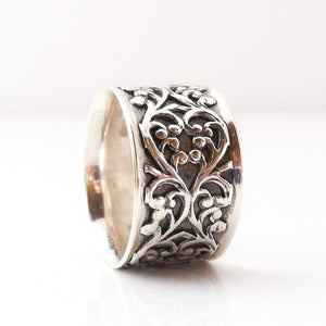 Antique Silver Motif Ring