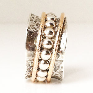 Beaded Dogwood Ring