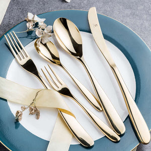 Crescent Household Stainless Steel Western Cutlery Set