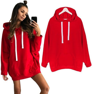 women hoodies sweatshirts ladies autumn solid pullovers long sleeve sexy winter fall clothing sweat shirts hoodies