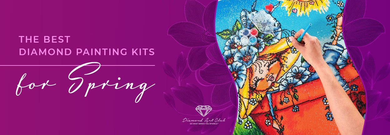 best diamond art kits for spring