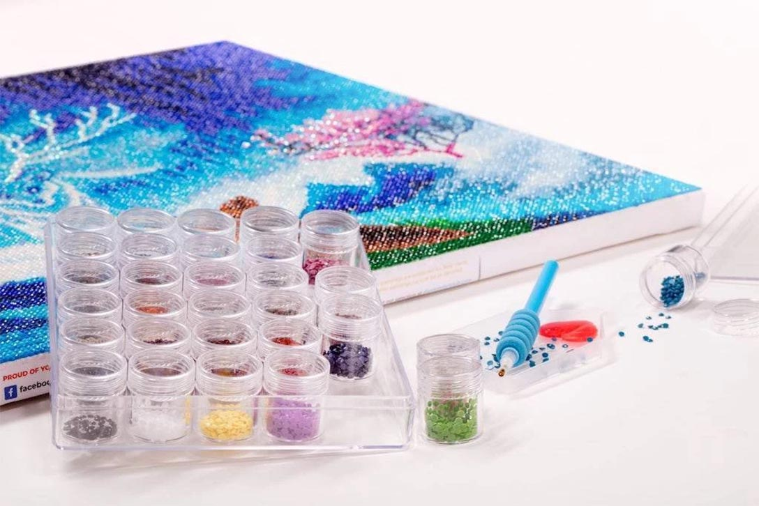 diamond painting storage compartments