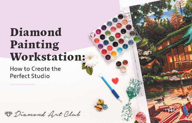 diamond painting workshop how to create perfect studio