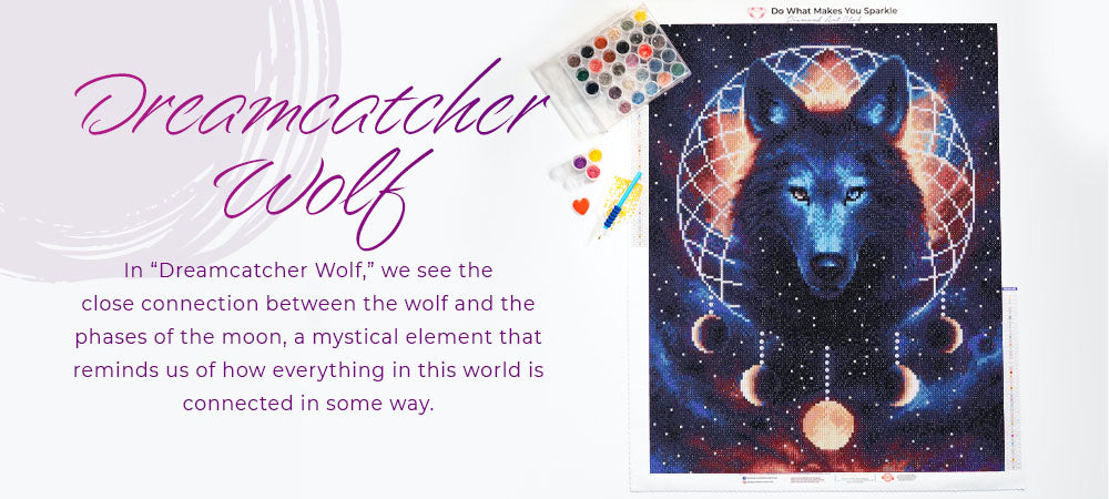 dreamcatcher wolf graphic