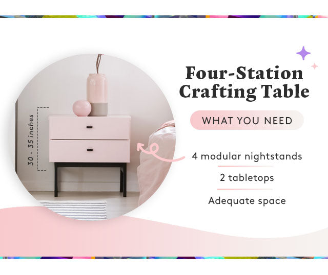 four station crafting table