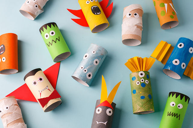 halloween themed toilet paper roll crafts