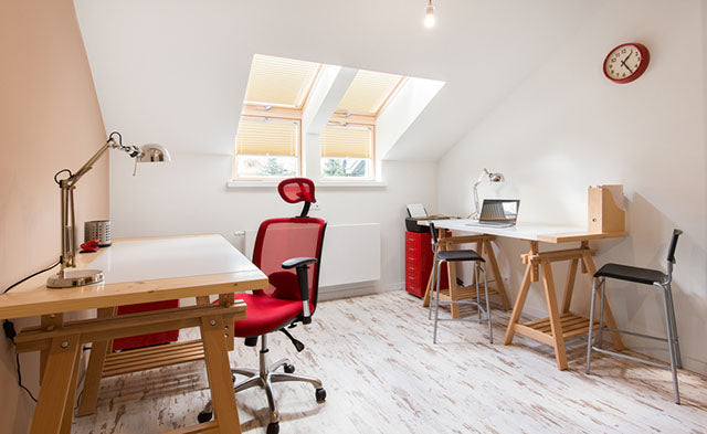 office space in attic