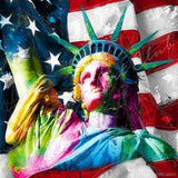 Diamond Painting Statue Of Liberty Square / 11.8″ x 11.8″ (30cm x 30cm) / 34 Colors