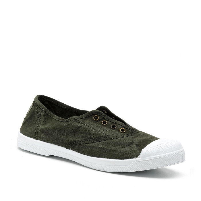 Natural World Women's Sneaker 102E Khaki Green