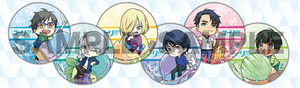 Yuri!!! on Ice - Clear Coasters
