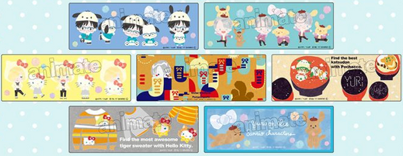 Yuri!!! on Ice - Sanrio Collaboration Clear Bookmark