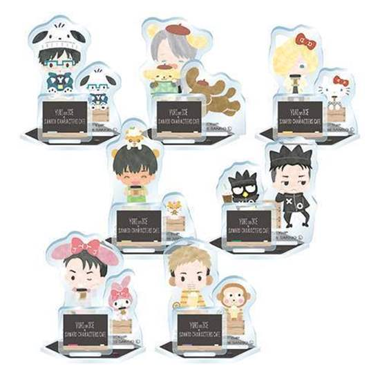 Yuri!!! on Ice - Sanrio Collaboration Cafe - Acrylic Stands