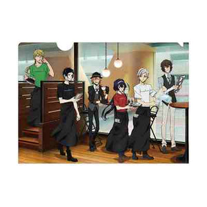 Bungo Stray Dogs - Tower Records Collaboration Cafe - Clear File