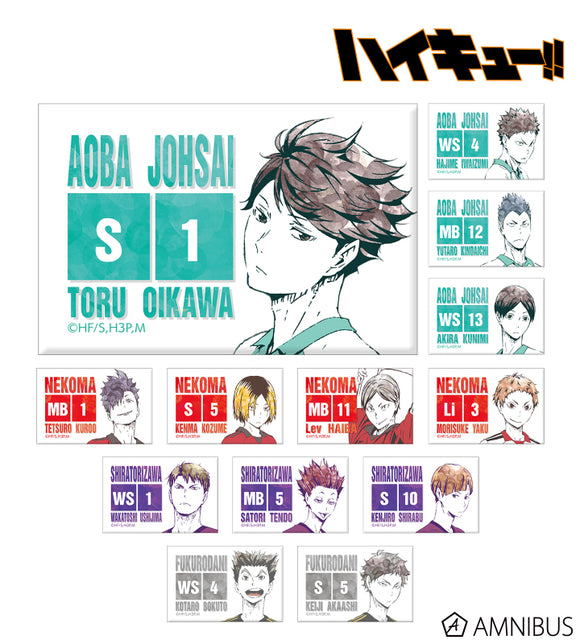 [Pre-order] Haikyuu!! - Trading Ani-Art Can Magnet