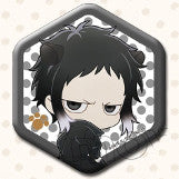 Bungo Stray Dogs - Chara Badge Collection - Akutagawa Ryunosuke