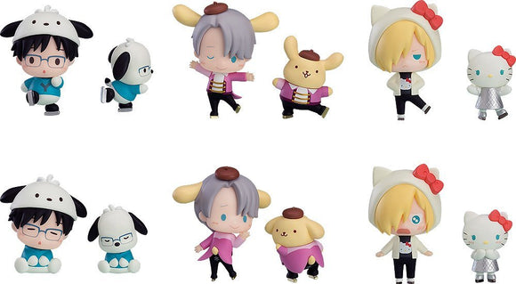 [Pre-order] Yuri!!! on Ice - Sanrio Collaboration Trading Figure