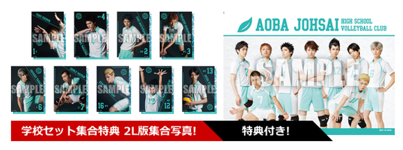 Haikyuu!! - Saikyō no Team Goods - Aoba Josai Players Set