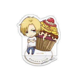 [Pre-order] Banana Fish Cafe Concept Goods - Acrylic Stand (Chibi)