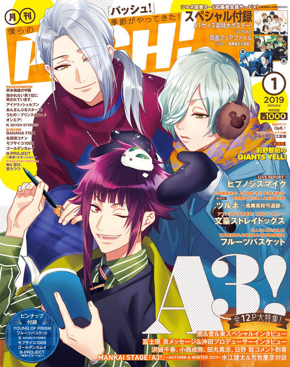 [Pre-order] PASH! - January 2019 issue