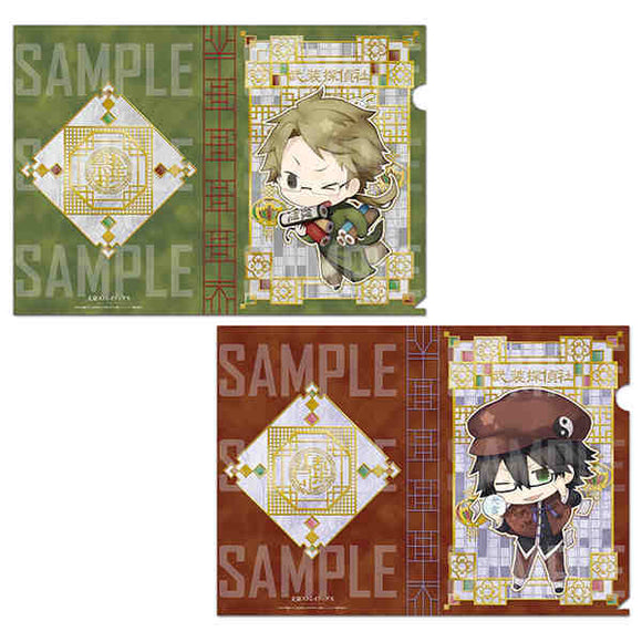 Bungo Stray Dogs -  Clear File Set: China